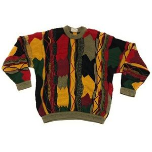 Vintage Coogi Australia Multi Color Knit Sweater